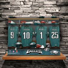NFL Football Player Locker Room Fan Canvas Custom Print Personalized 18x24x1/2