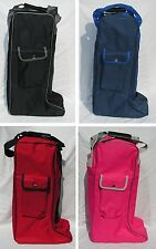 Rhinegold Long Riding Boot Bag - various colours- protect your boots - NEW