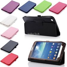 "Folio PU Leather Book Case Cover for Samsung Galaxy Tab 3 8.0"" T310 T311 T315"