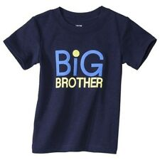 New Carter's Just One You BIG BROTHER Shirt Blue Top NWOT 2t 3t 4t 5t