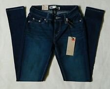 NEW Levi's 535 Legging Stretch Juniors Womens Blue Denim Jeans Many Sizes