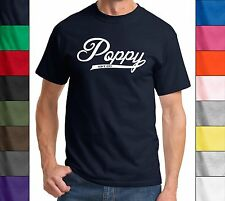 Poppy Since 2013 T Shirt New Gift Baby Holiday Gift  Fathers Day Gift Tee Shirt