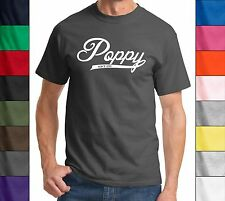 Poppy Since 2015 T Shirt New Gift Baby Holiday Gift  Fathers Day Gift Tee Shirt