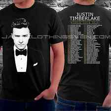 new JUSTIN TIMBERLAKE WORLD TOUR DATES 2014 Short Sleeve  tee T-SHIRT S#S-2XL