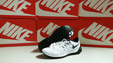 Nike Free 5.0 2014 Men's Running Shoes White / Black / Pure Platinum NEW in BOX