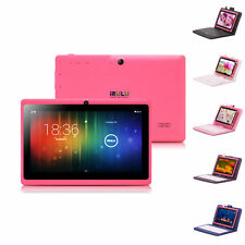 "iRulu 7"" Capacitive Android 4.2 Tablet PC 4GB Dual Core&Cam Azure w/ Keyboard"