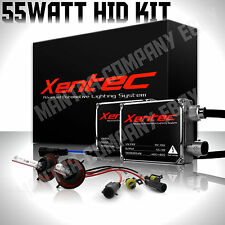 55watt HID Conversion Kit H4 H7 H11 H13 Blue White 9006 6K 5K Hi-Lo Bi-Xenon 12k