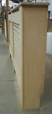 Brand New Oak Veneer Slatted Radiator Cover Radiator Cabinet