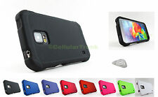 Samsung Galaxy S V 5 S5 Active G870 Matte Snap-On Case Cover Accessory+PryTool