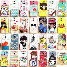 Cute Design Cartoon 2 in 1 PC & Soft TPU Hybrid Case Cover Skin For HTC One 2 M8