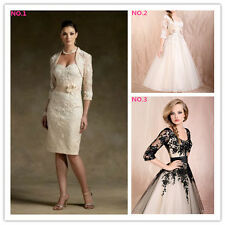 New Style Mother of  Bride Dress Suit Wedding Party Formal Evening Dress 6--16