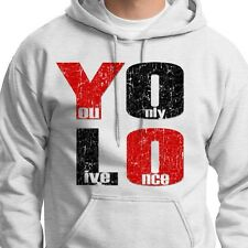 YOLO You Only Live Once T-shirt Drake Motto cool The Weeknd Hoodie Sweatshirt