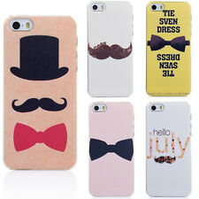 Cute Cartoon Pattern Thin Hard Back Skin Case Cover for Apple IPhone 5 5S 5G