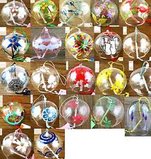 Cozy Japanese Traditional Culuture Glass Fuurin Wind Chime Decorate WindBell