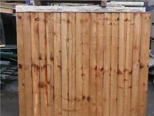 Pressure Treated Close Board Feather Edge Fence Panel Fencing Various Sizes