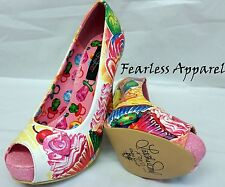 IRON FIST SWEETS 4 MY SWEET SUGAR CANDY RING POP PLATFORM HEELS SHOES SIZE 6-10