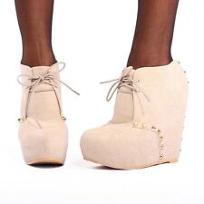 IRON FIST MANEATER WOMEN NUDE WEDGE US SIZES