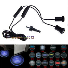 2X Ghost Shadow CREE LED Car Door Logo Welcome Projector Lights For BWM AUDI VW
