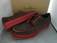 NEW COLE HAAN MASON 4 EYE OXFORD MENS LACE-UP LEATHER SHOES CHESTNUT