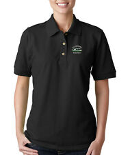 RV HAVING FUN YET? CAMPING Embroidery Embroidered Lady Woman Polo Shirt