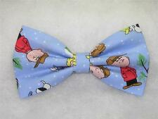 (1) PRE-TIED BOW TIE-CHARLIE BROWN & PEANUTS CLASSIC CHRISTMAS-4 to choose from!