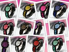 2014 Hot Sale Cheap Price Woman Fashion Rubber / Jelly Band, 40 mm Dial