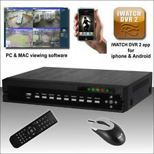 iwatch 4Ch WD1 (960h)Realtime Rec DVR Mobile, PC & MAC view, for CCTV kit System