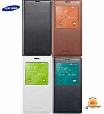 Genuine Samsung Galaxy S5 Mobile S-View Flip Wallet Phone Case Cover