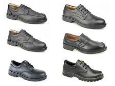 Mens Safety Work Shoes. Safety Toecap Manager Style. Choice Of Style. Sizes 6-12
