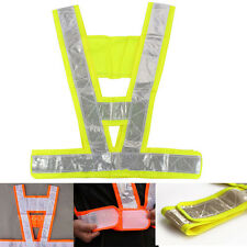 Hi Viz High Visibility Waistcoats Safety Vest Security Reflective Stripes Jacket