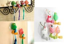GOS Animal Silicone Toothbrush Holder Family Set Wall Bathroom Hanger Sucker Cup