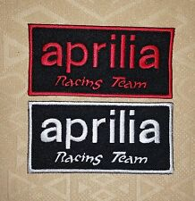 Aprilia Racing Team Title Biker Iron/ Sew-on Embroidered Patch/ Badge / Logo