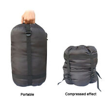 Compression Stuff Sack Bag Suit Sleeping Bag Outdoor Camping Hiking BlueField