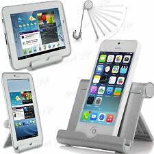 Multi - Angle Portable Métal Support Stand Pour iPad Tablettes, E - Readers,