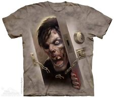 THE MOUNTAIN ZOMBIE AT THE LOCK DOOR KILLERS DEAD CRAZY SCARY T TEE SHIRT S-5XL