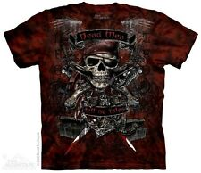 THE MOUNTAIN DEAD MEN TELL NO TALES FEAR SKELETON SKULL PIRATE T TEE SHIRT S-5XL