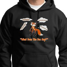 What Does The Fox Say YLVIS Funny Tee Norwegian Dance Music Hoodie Sweatshirt