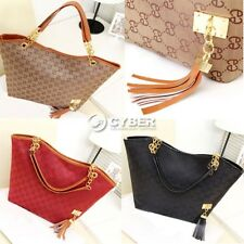 New Korean Lady Women Leather Messenger Handbag Shoulder Bag Totes Purse
