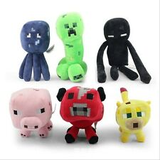 1PCS Jazwares Game Minecraft Enderman Creeper Pig Animal Soft Plush Toy Doll