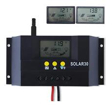 10A/15A/20A/30A 12V/24V Solar Charge Controller Solar Panel Battery Regulator TS