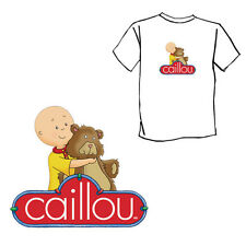 Caillou hug teddy bear Child kids boy girl T-Shirt
