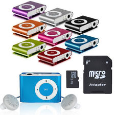 8GB Support Micro SD TF Mini Clip Metal USB MP3 Music Media Player Fit for Gift