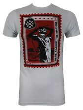 Rage Against The Machine Postage Stamp Men's T-Shirt - NEW & OFFICIAL
