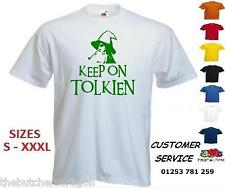 Mens Keep On Tolkien Funny 2013 Toking Spoof Wizard Joke T Shirt Custom Tshirt