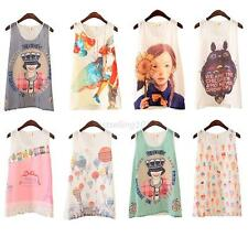 Lovely Fashion Womens Girls Sleeveless Vest Tank Cami Tops Blouse Casual T-shirt