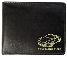 Personalised Mens Leather Wallet - Porsche Boxster