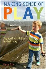 NEW Making Sense of Play by Perry Else Paperback Book Free Shipping