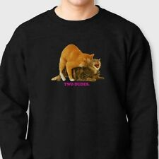 TWO DUDES Golf Wang OFWGKTA Cats T-shirt Odd Future Tyler Crew Sweatshirt