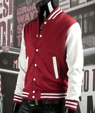 Unisex Varsity Baseball Letterman Jacket Coat Stylish College Jacket