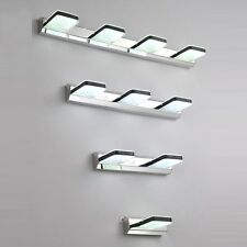 Modern High power LED Bathroom Wall Lights Square Acrylic Mirror Wall Sconces